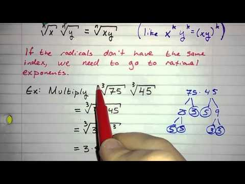5.5.1 - Multiplying Radical Expressions