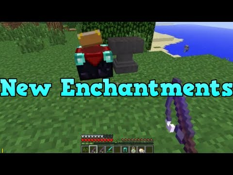 Minecraft Xbox 360 NEW Enchantments (Fishing Rod, Anvil and Thorns)