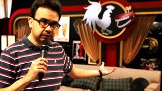 Rooster Teeth Studio Tour | The Throne Of King Gus