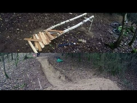 MTB/Downhill Trail Building  (Jumpline)