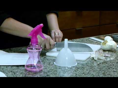 Garlic Juice Pesticide Recipe