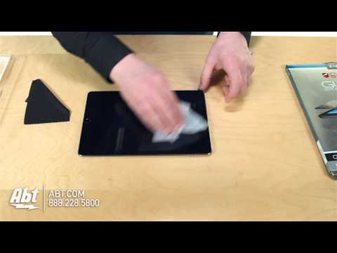 How To: Put On Zagg InvisibleShield iPad Air Glass Screen Protector ID5GLSF00