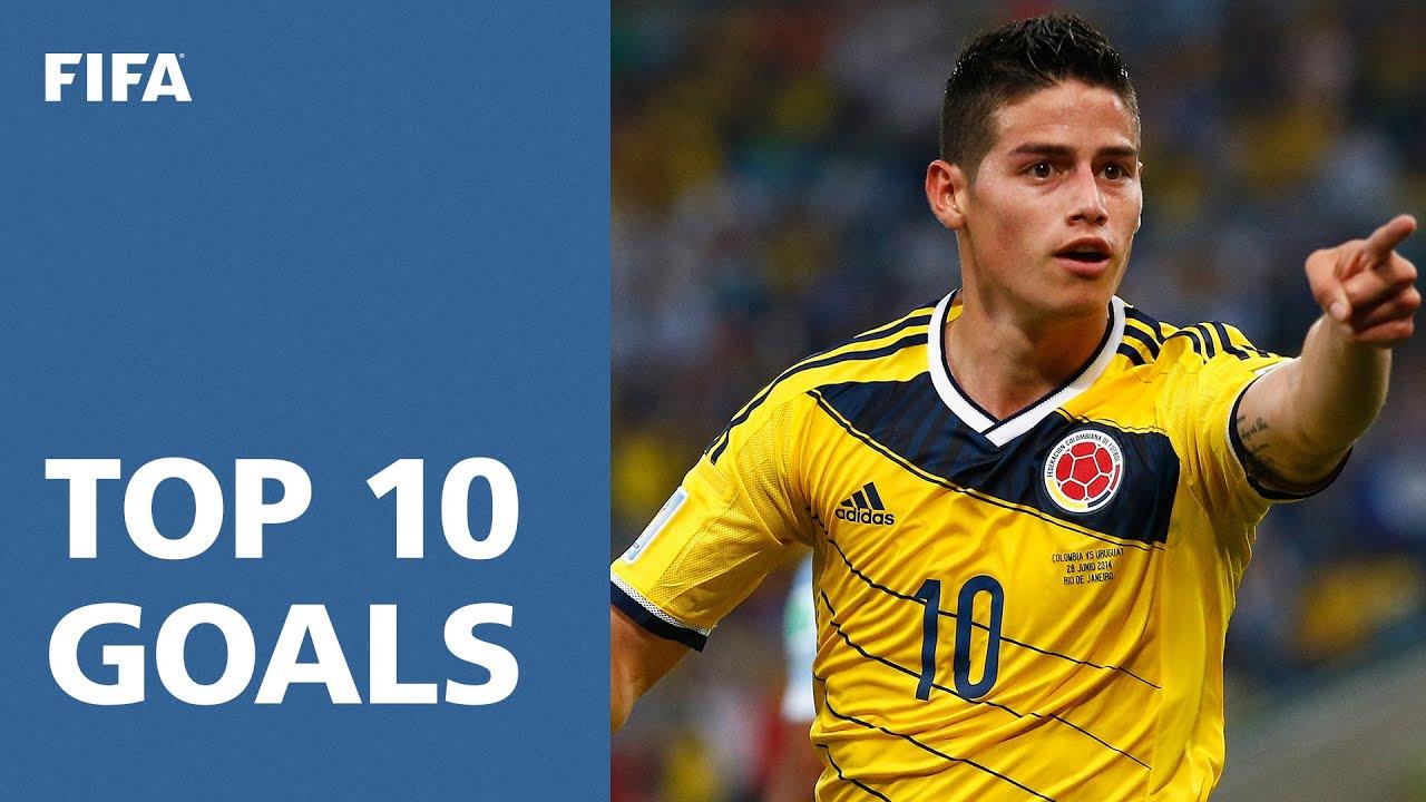 TOP 10 GOALS | 2014 FIFA World Cup Brazil