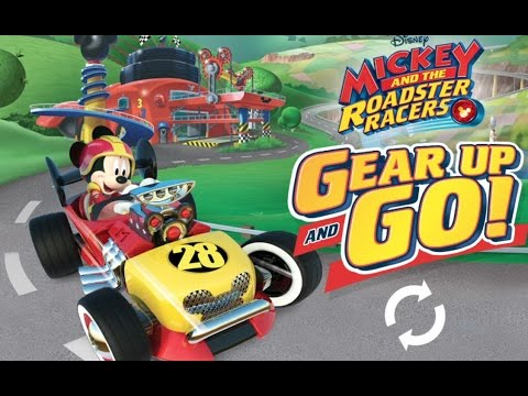 Mickey and the Roadster Racers: Goofy Gas/Golden Outback Trophy - Disney Jr. UK