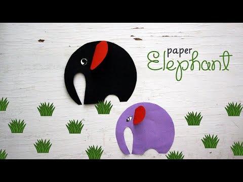 DIY Paper Elephant