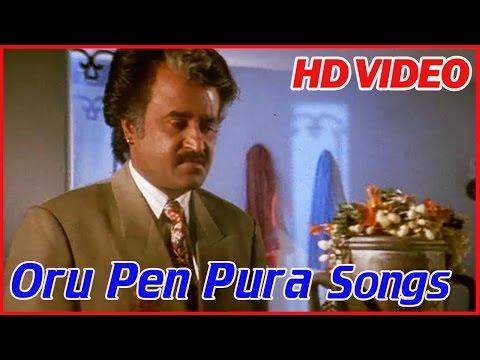 Tamil Songs | Oru Pen Pura | Annamalai Movie Songs | K J