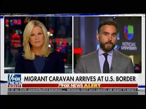 Trump Pushes Back Against Caravan - Story