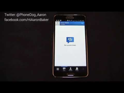 BBM on Android! (Walkthrough)