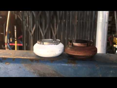 1998 Chevy Silverado head pipe exhaust donut leak
