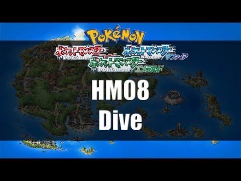 Pokemon Ruby/Sapphire/Emerald - Where to find HM08 Dive