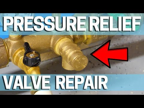 Pressure Relief Valve Replace Leaking Well Pump