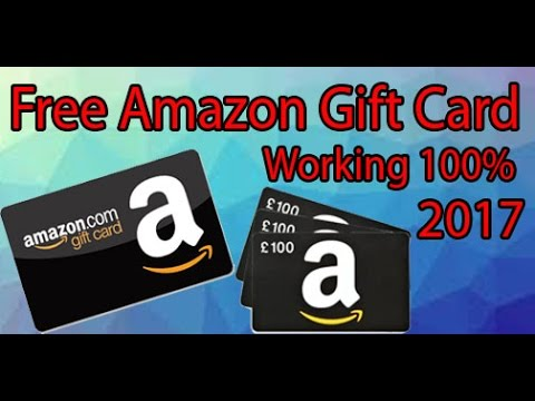 How to get amazon gift card generator 2017 redeem cords working 100%