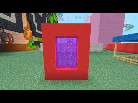 MINECRAFT - COMO FAZER PORTAL DO NETHER COM QUALQUER BLOCO (ps3/ps4/psvita/xbox360/one/WiiU/PE/PC)