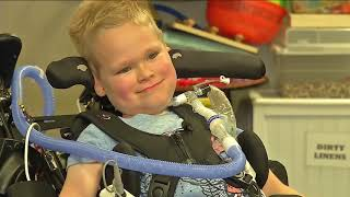 Mother opens up about son battling AFM