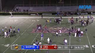 UWA Football Vs Shorter