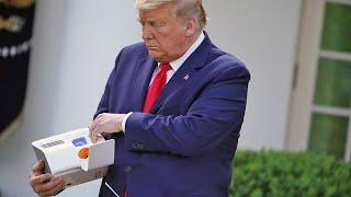 Donald Trump unveils a 5-minute coronavirus test