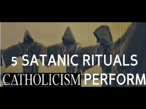100% PROOF The Catholic Church Worships the devil. See & Hear With Ur Own Eyes & Ears!