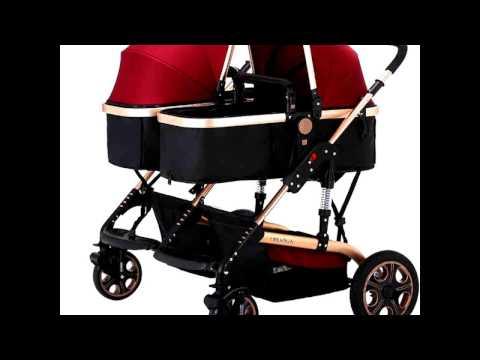Stroller Double Baby Pram,TZ Twin Lightweight