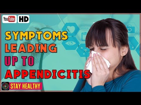 6 Symptoms Leading Up to Appendicitis
