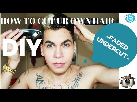 DIY cut your own hair | scissors and clippers | SUPER EASY