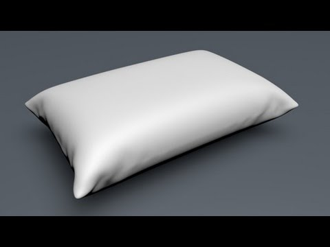 How to Make a Pillow in Cinema 4d Using Cloth - PakVim net HD Vdieos