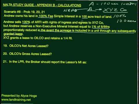 NALTA STUDY GUIDE   Scenario 8 Prob 19, 20, 21