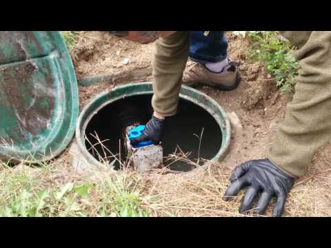 How to clean a septic filter