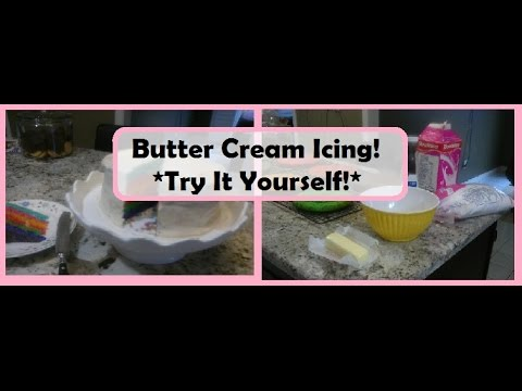 Butter Cream Icing- Easy & Fast