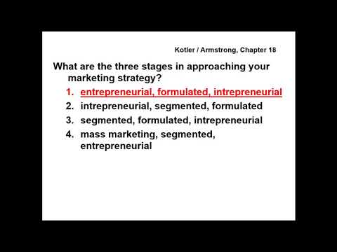 Principles of Marketing - QUESTIONS & ANSWERS - Chapter 18
