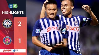 """Highlights   Bà Rịa Vũng Tàu - Sài Gòn FC   Cú """"ngã ngựa"""" đầy choáng váng   VPF Media"""