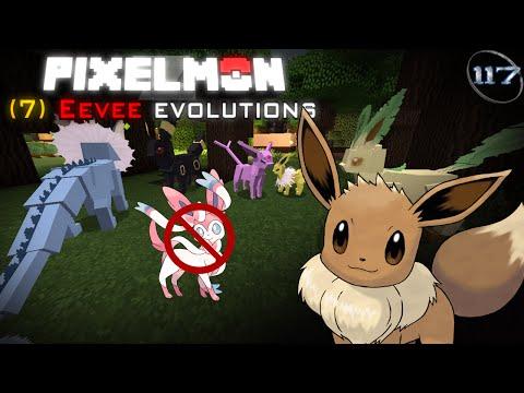 Minecraft: Pixelmon | 7 Eevee Evolutions **(READ DESCRIPTION)**