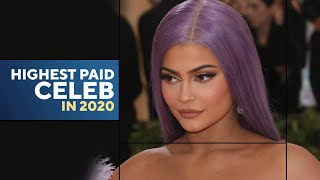 Kylie Jenner Tops 'Forbes' Magazine's Highest-Paid Celebrities List After Billionaire Title Drama