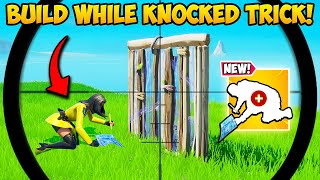 *NEW* BUILD WHILE KNOCKED TRICK!! - Fortnite Funny Fails and WTF Moments! #962