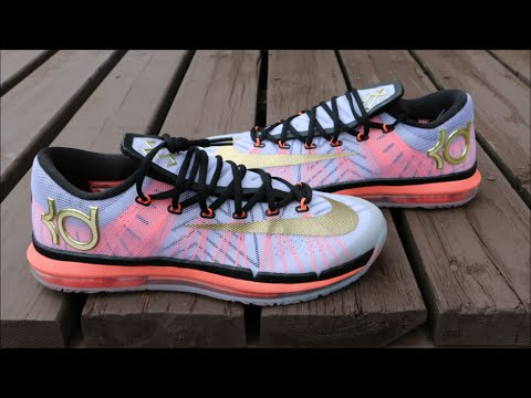 Nike KD 6 Elite Gold - Detailed Review