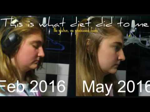 What Eating Healthy did to me! (Gluten-free, no processed foods!)