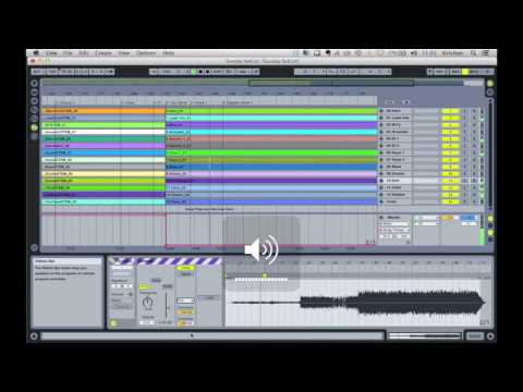 Changing Tempo, Key & Volume and Using Automation in Ableton Live Using Warp and Complex Pro