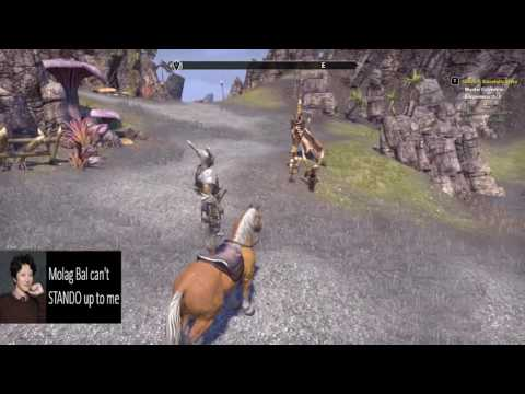 How goblins ride horses in elder scrolls online