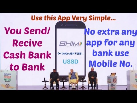 BHIM App launched by PM Narendra Modi |Review|Hindi