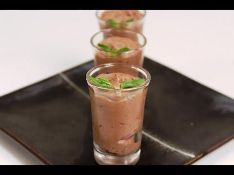 Chocolate and Nougat Mousse | Sanjeev Kapoor Khazana