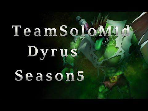 TSM Dyrus Dr.Mundo TOP vs Yasuo Season 5 Patch 5.7