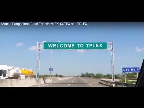 Manila-Pangasinan Road Trip via NLEX, SCTEX and TPLEX