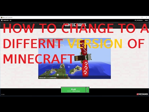 How to cange version of Minecraft New launcher - 1.11.2 Onwards