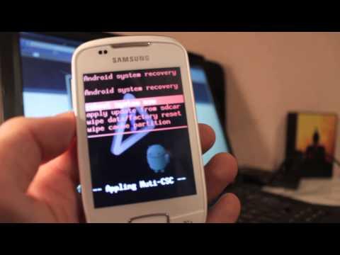 Resetear / Reestablecer / Hard reset / Recovery mode Samsung Galaxy Mini S5570 - Phone&Cash