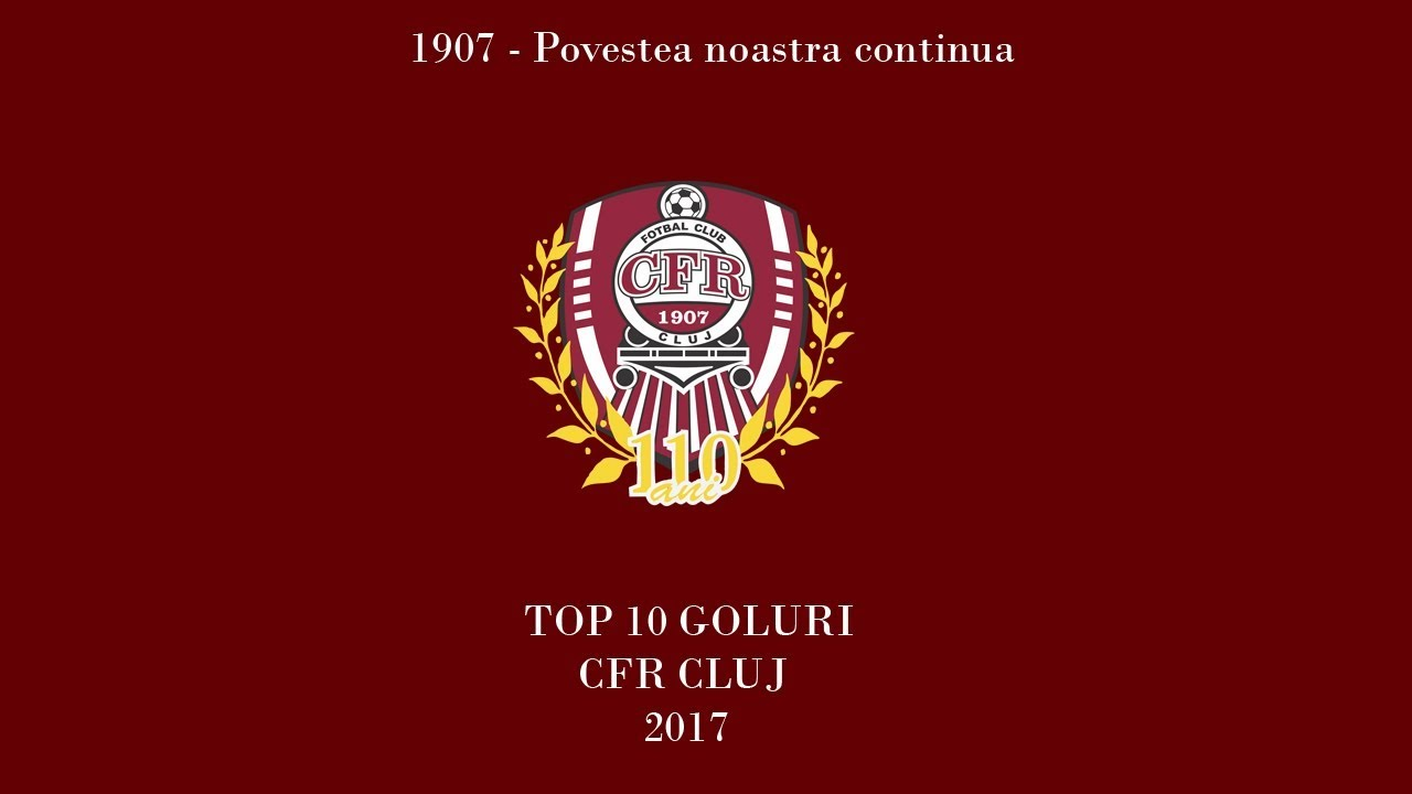 TOP 10 goluri CFR Cluj - 2017