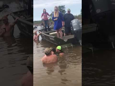 Couple Use Catfish for Baby Gender Reveal