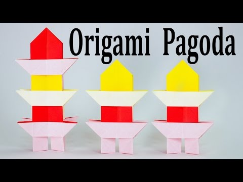 Origami Pagoda Tutorial (Traditional)