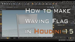 How to Make Waving Flag in Houdini 15 Tutorial from Grafix