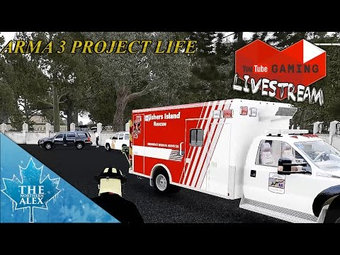 Stream Archive Feb 24 2017 ArmA 3 Fishers Island Fire Department Road to 65k