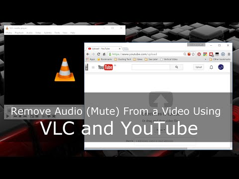 How to Remove Audio (Mute) from Video using VLC and YouTube