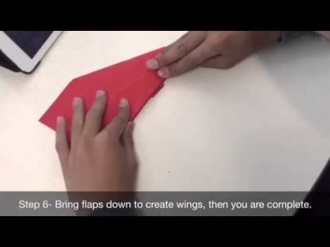 The Moth Plane - How To Make A Paper Airplane Fly 1 Metre